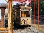 ruhrgebiet/118484/ein-ausgemusterter-aufbau-triebwagen-der-dortmunder-strassenbahn Ein ausgemusterter Aufbau-Triebwagen der Dortmunder Straßenbahn steht in dem kleinen Verkehrsmuseum am 'Mooskamp' in Dortmund-Nette - 04.07.2010.